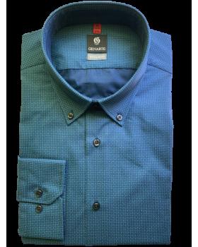 Camasa barbati bleumarin cu imprimeu REGULAR FIT