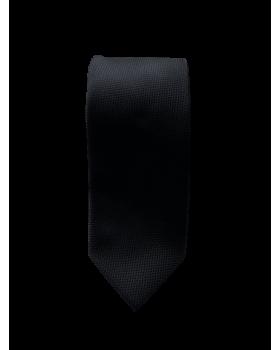 Cravata negru uni