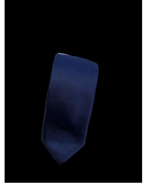 Cravata bleumarin uni