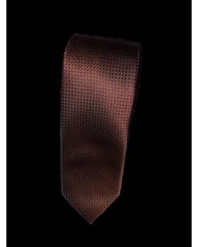 Cravată grena cu model țesătură